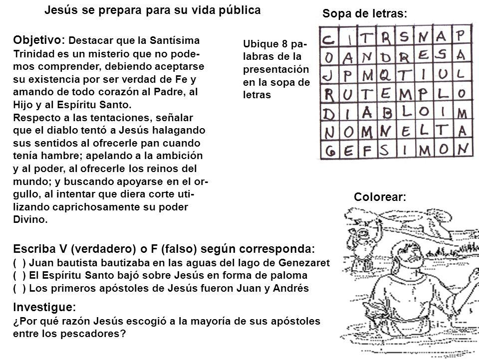 Juan Bautiza A Jesus Para Colorear