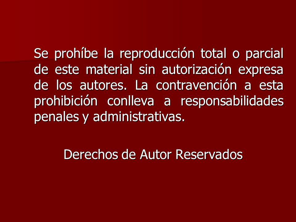 De Reservados Derechos Autor