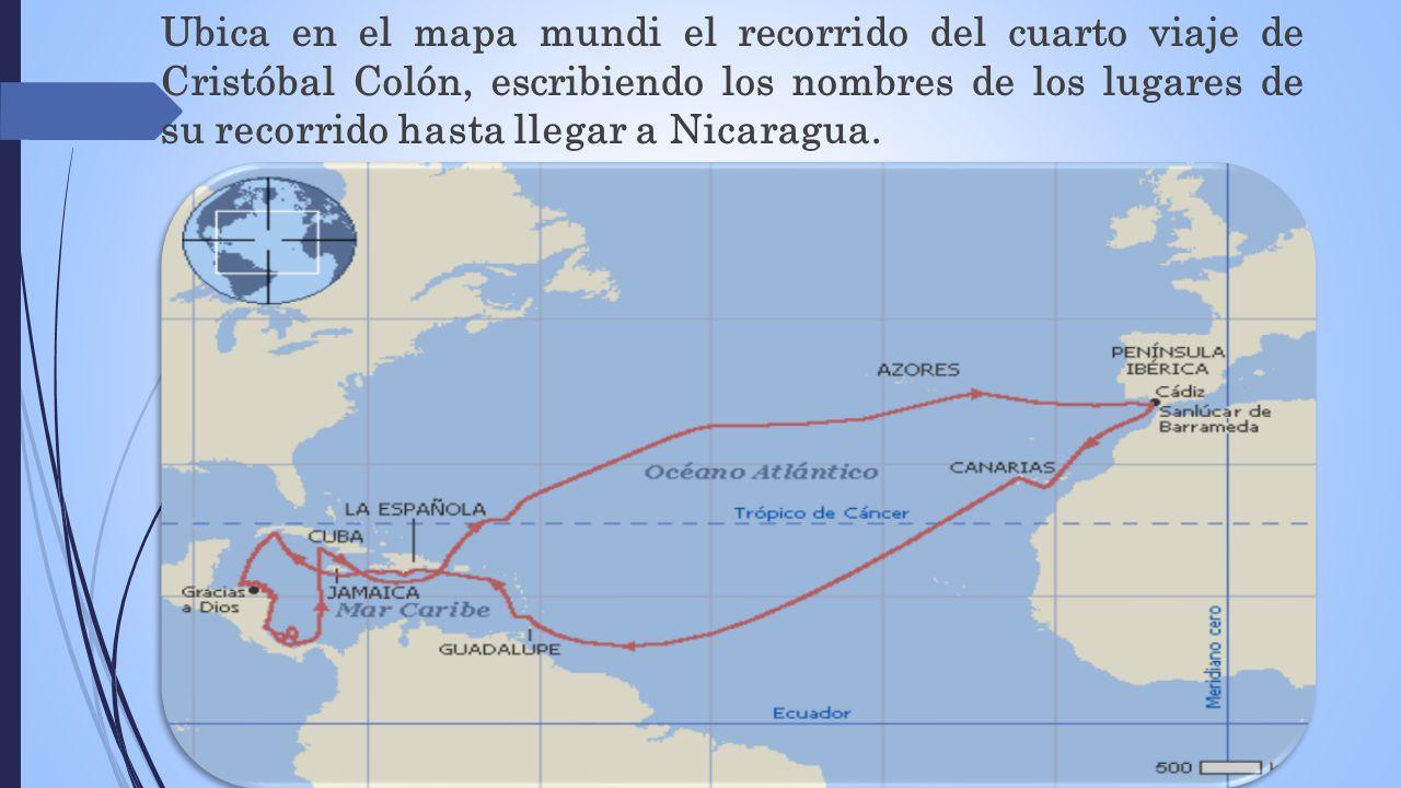 Imagenes De Los Mapas De Los Viajes De Cristobal Colon