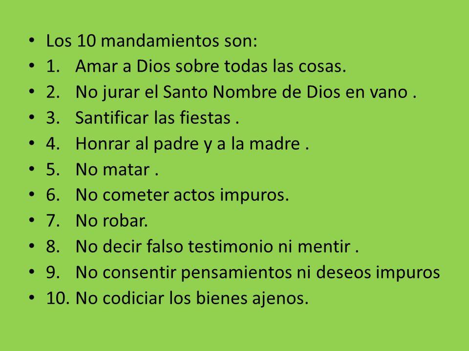 Ley Los La Sacramentos 7 Dios De De