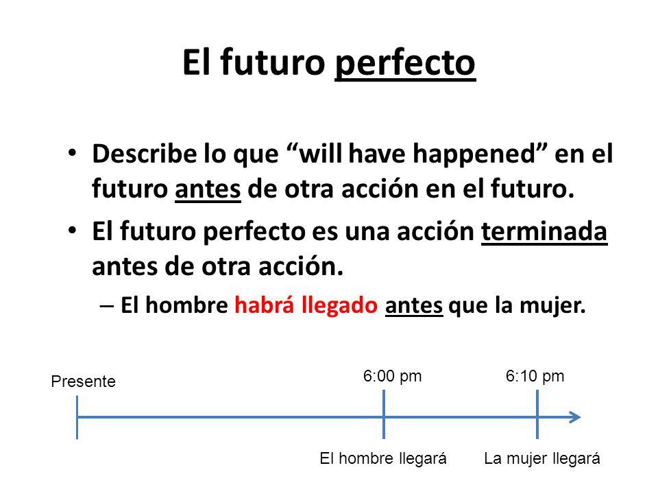 El futuro perfecto. - ppt descargar