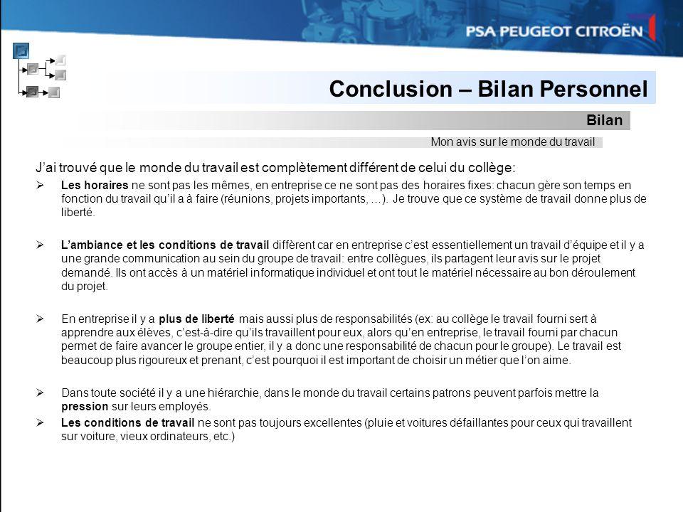 Stage De 3me PSA Peugeot Citron Page De Garde Ppt
