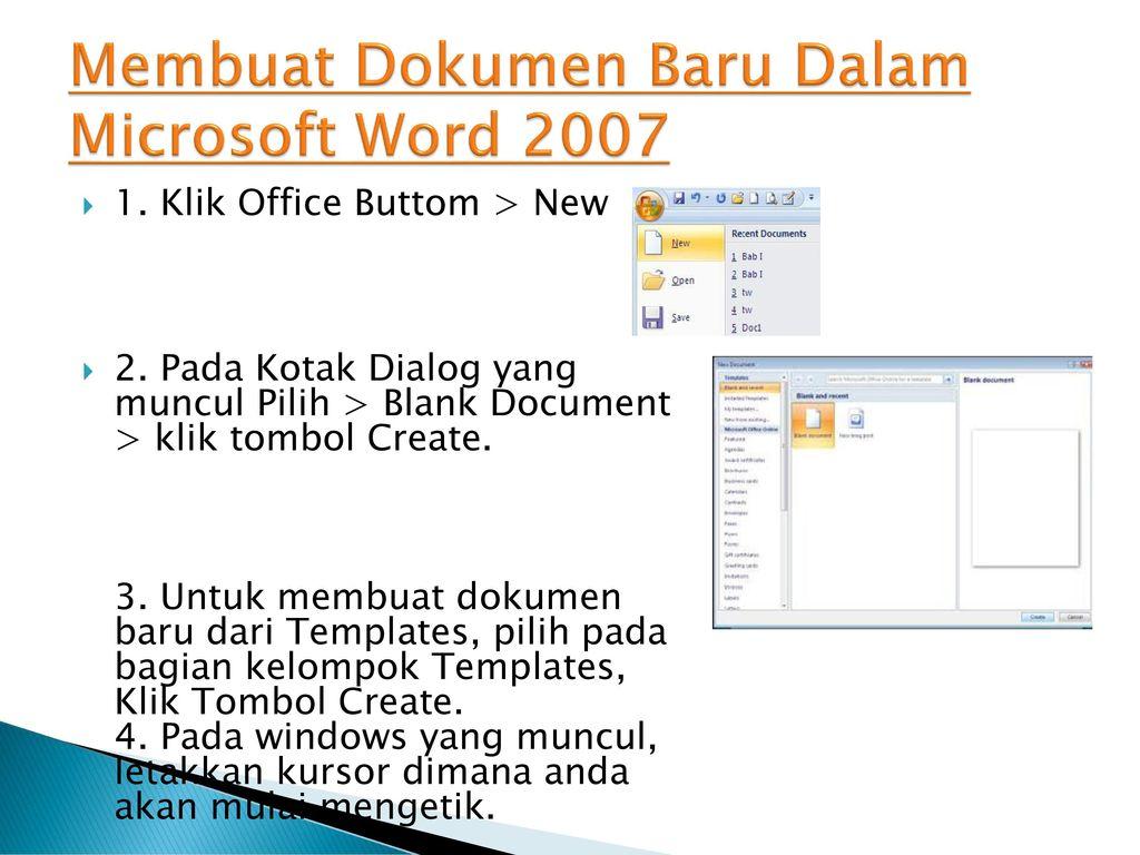 Mengenal Fungsi Fungsi Icon Microsoft Word Ppt Download
