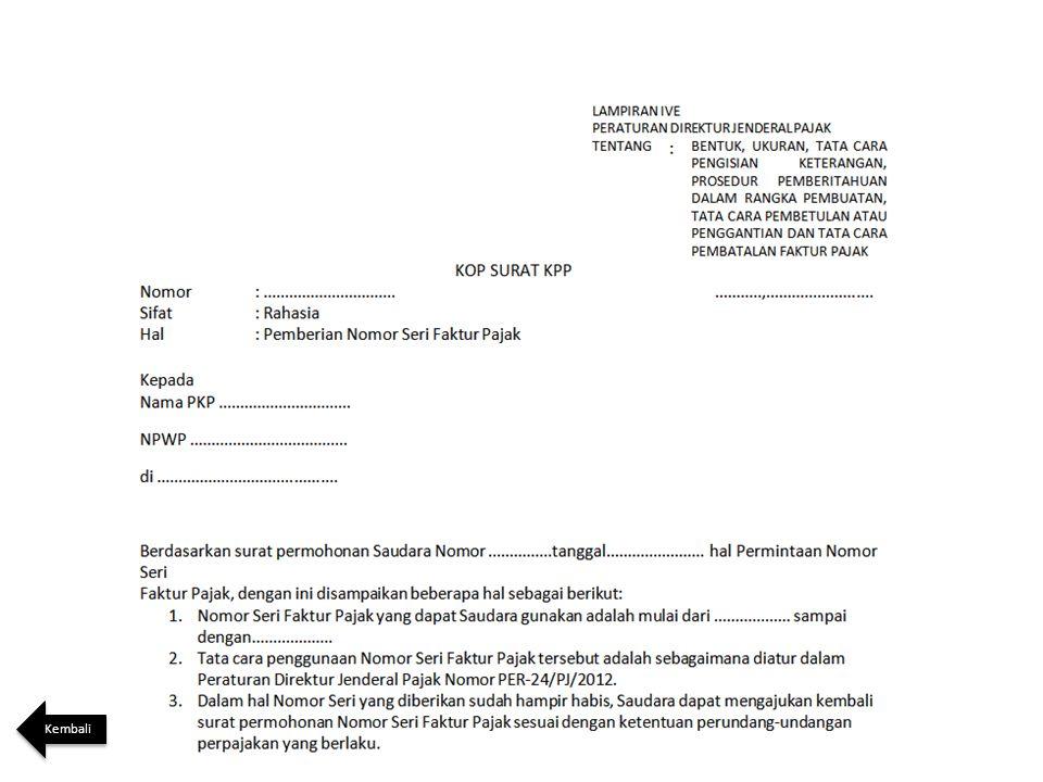 Contoh Surat Pembatalan Faktur Pajak Ke Kantor Pajak Download Kumpulan Gambar