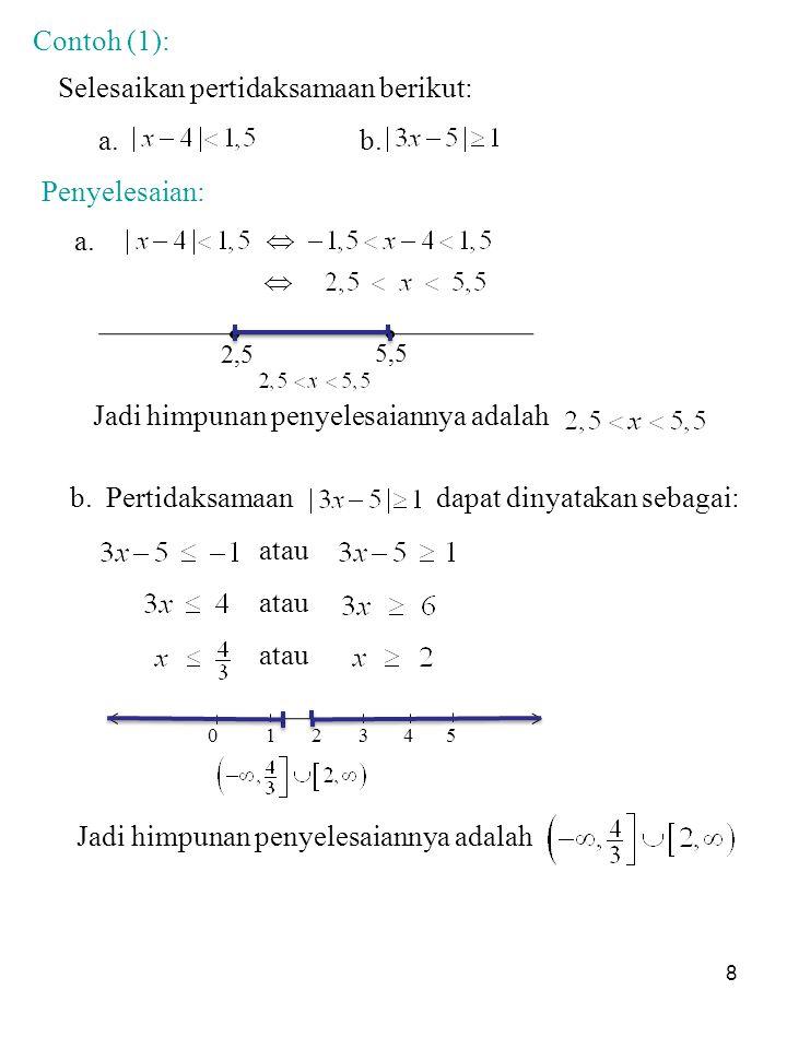 Contoh soal pertidaksamaan liniear contoh soal 1.contoh soal pembahasan. Soal Dan Jawaban Nilai Mutlak Pdf Kumpulan Contoh Surat Dan Soal Terlengkap