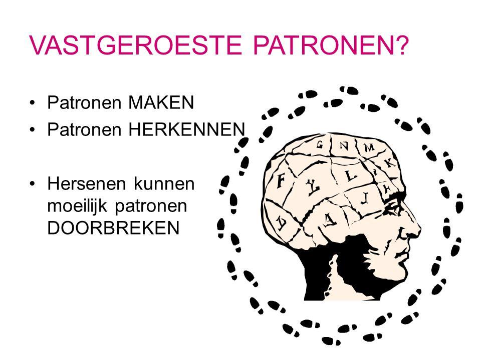 Afbeeldingsresultaat voor patronen doorbreken