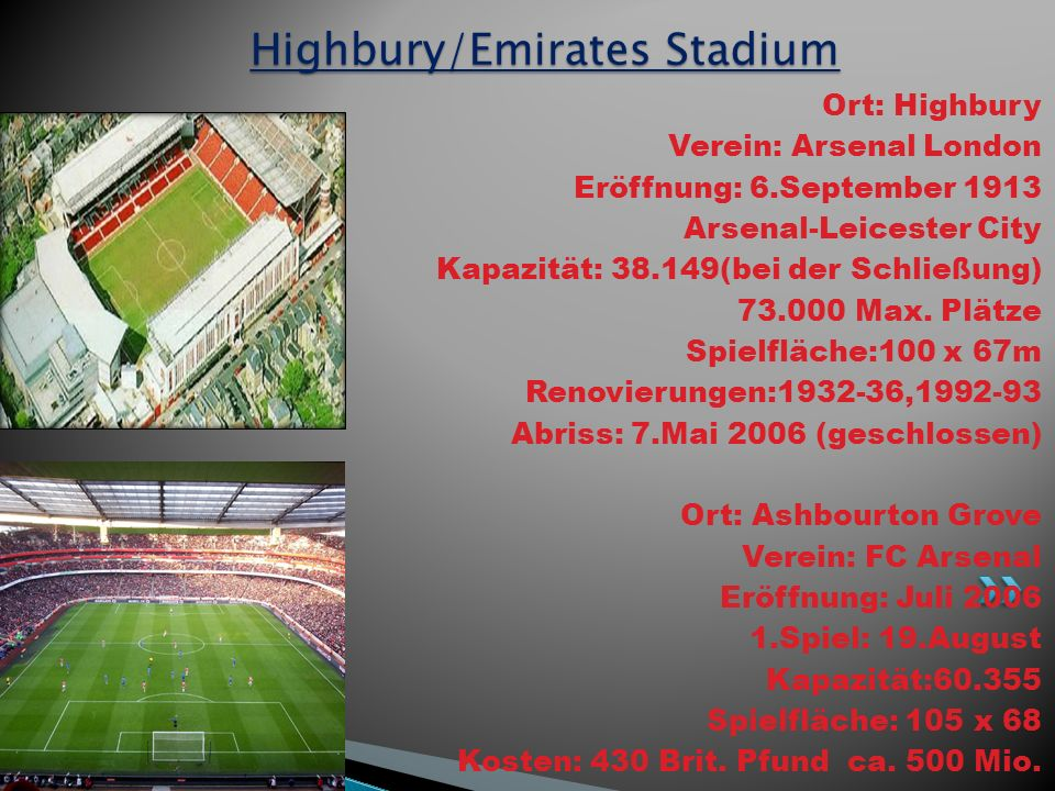 fc arsenal london the gunners ppt