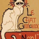 """Le Chat Grincheux, 2014"" by Ms Slide"