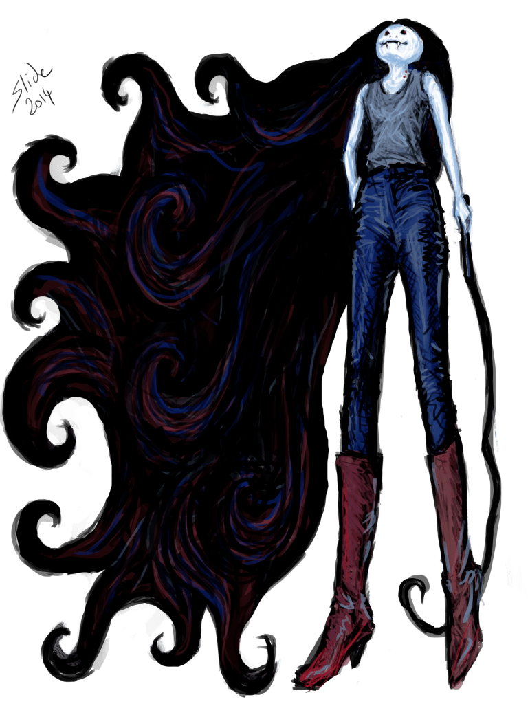 """Marceline in Jeans, 2014"" by Ms Slide"