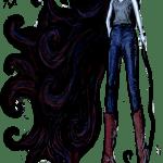 """""""Marceline in Jeans, 2014"""" by Ms Slide"""