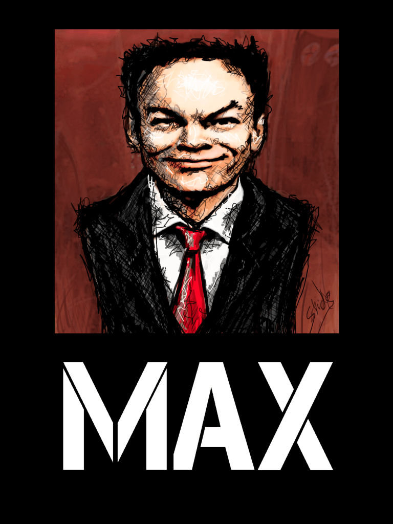 """Max Keiser, 2014"" by Ms Slide"