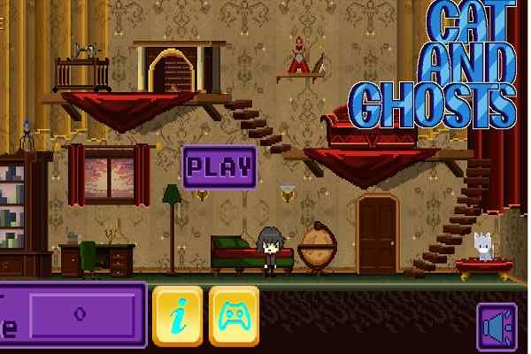 Cat And Ghosts Games Play Online Free Atmegame Com