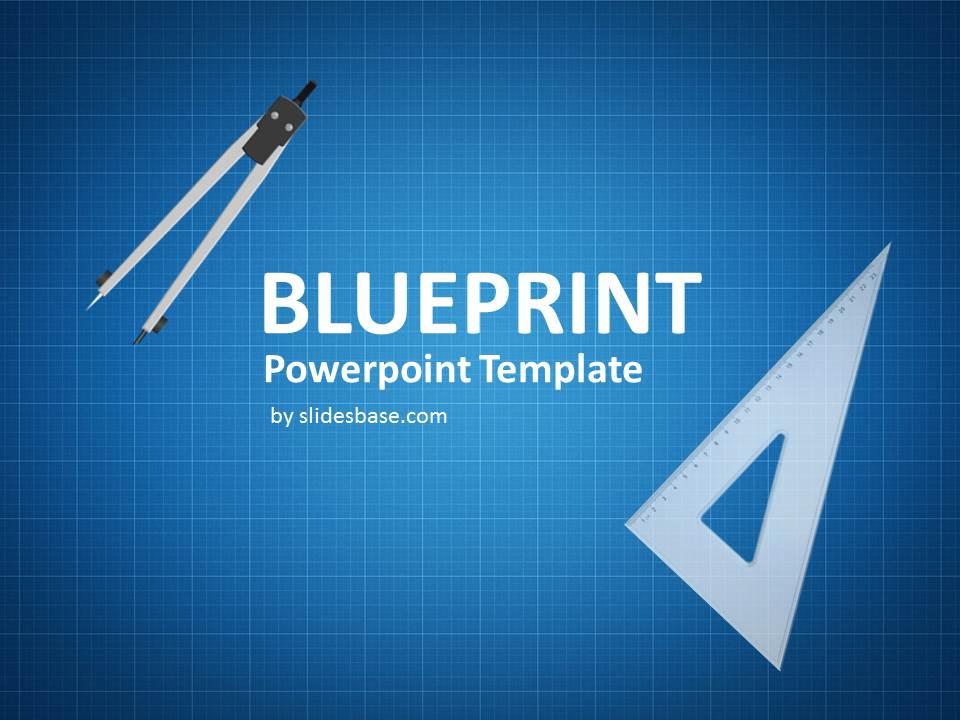 Blueprint Template Blueprint Tool Kit A Powerpoint Template