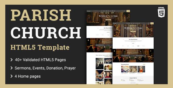 church-template