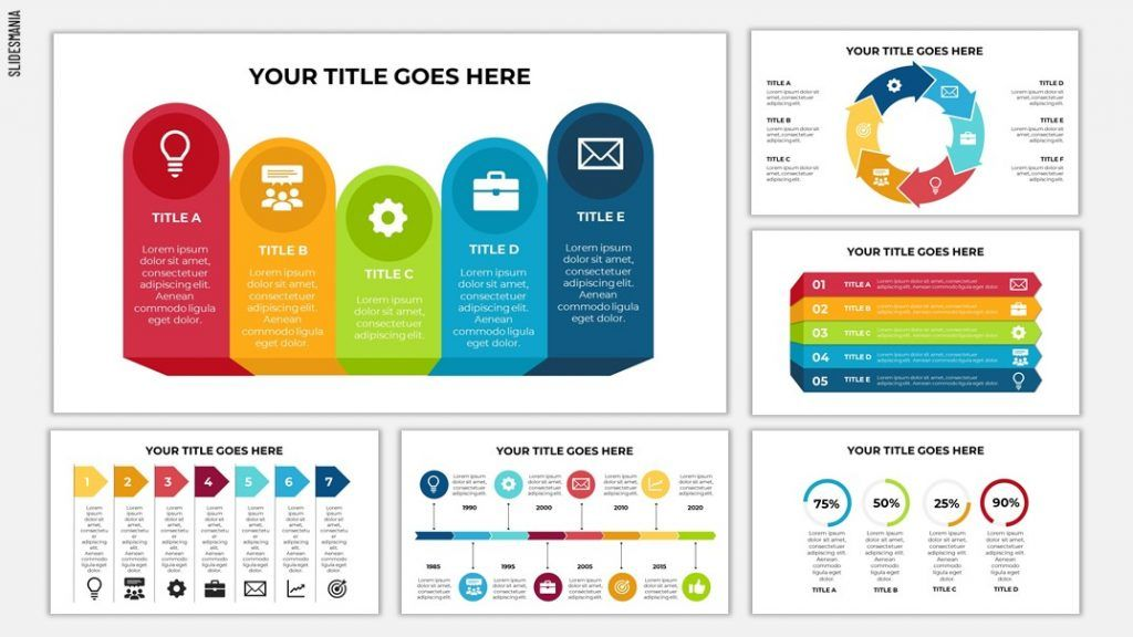 free infographics for google slides or