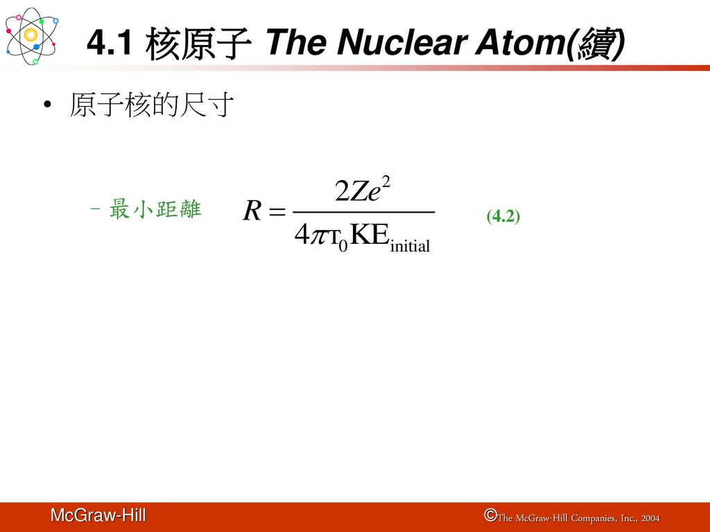 4 Atomic Structure