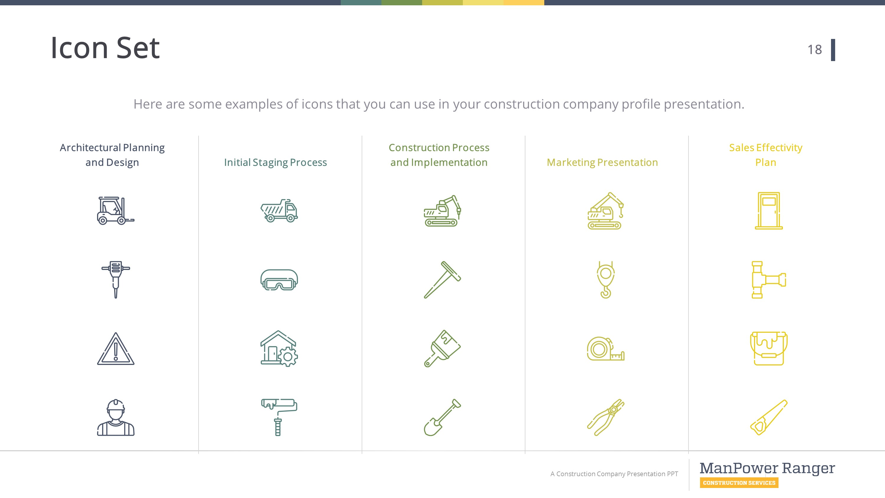 Construction Premium Powerpoint Template Slidestore