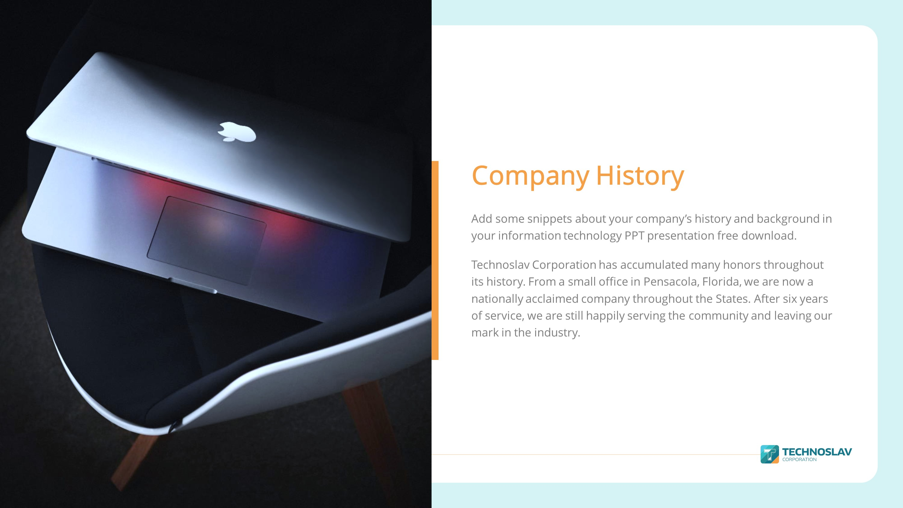 Information Technology Premium Powerpoint Template