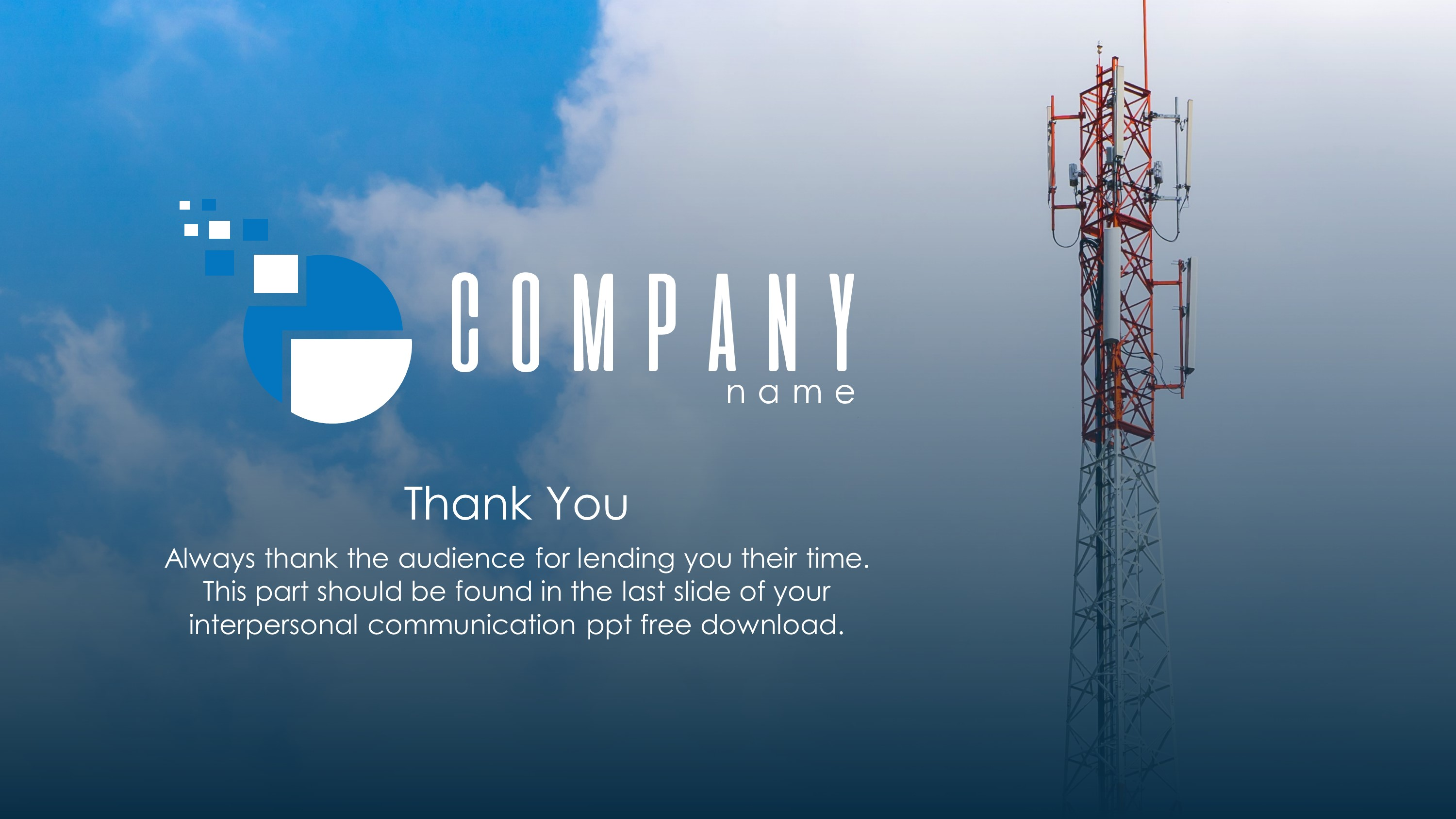 Communications Plan Premium PowerPoint Template SlideStore