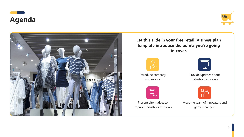 Retail Marketing Plan Premium Powerpoint Template Slidestore