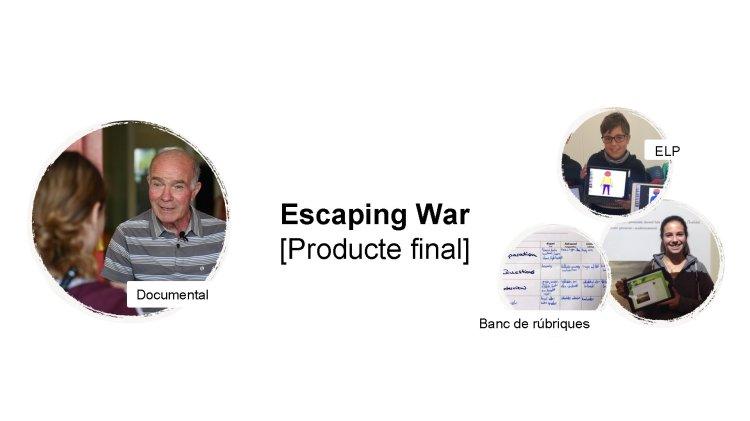 ELP escapando de la guerra [Producte final] Documental Banco de rúbricas