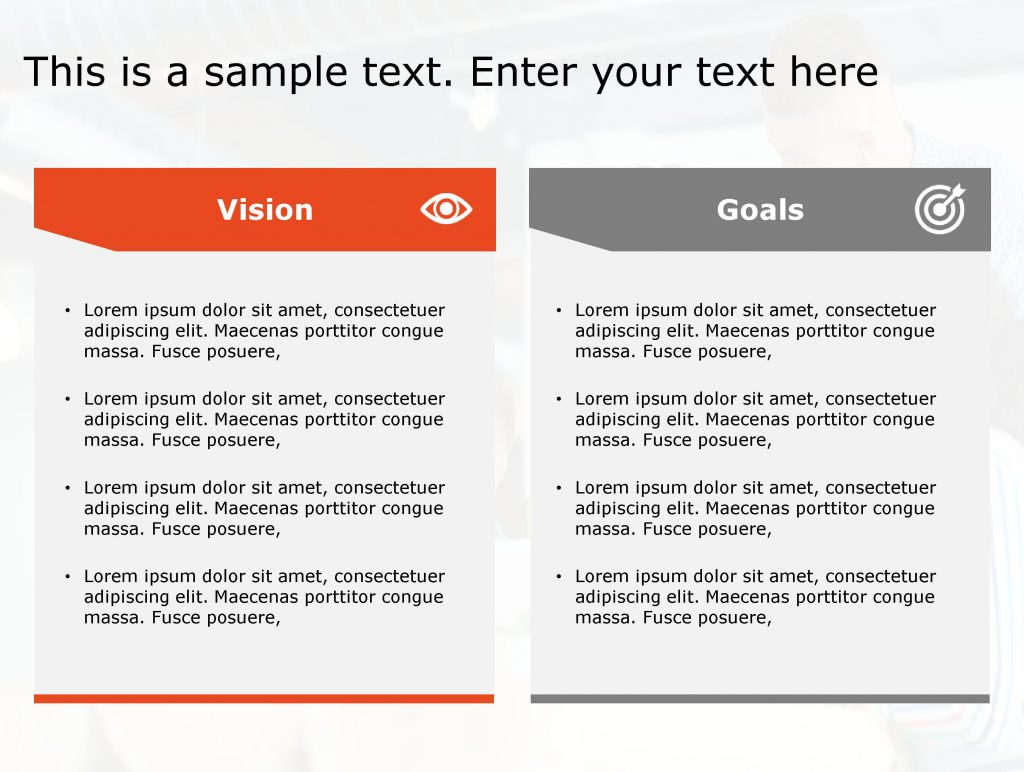 Vision Goals Powerpoint Template 196