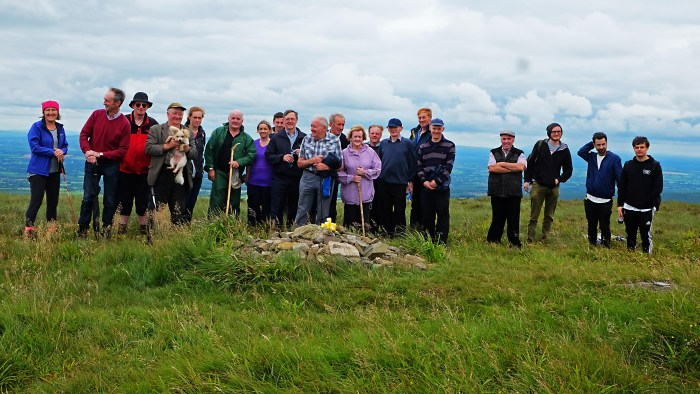 Walkers at the Slieve Bloom Ard Eireann Festival 2016