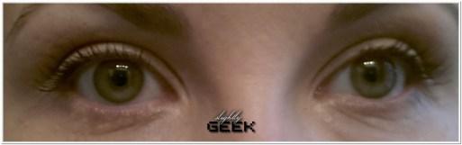 Pomalowane oboje oczu