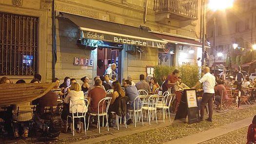 Borgo Dora was quiet at first and then it got livelier