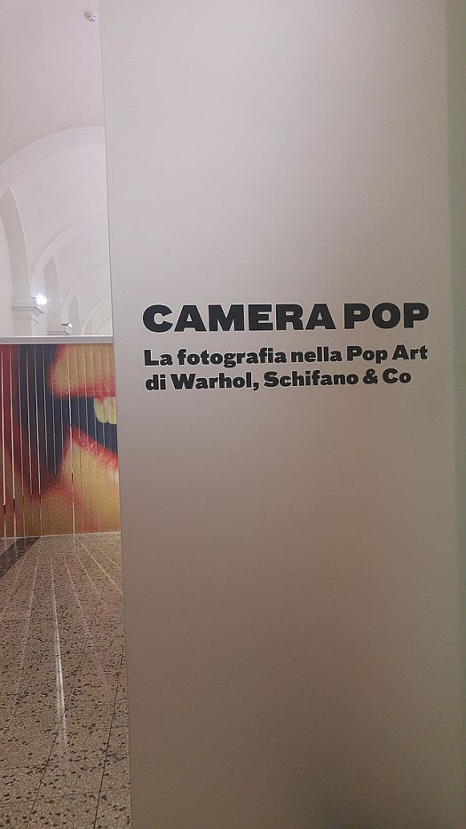 Entering the exhibit