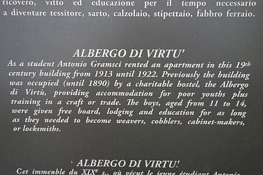 Interesting history for the hotel building