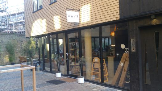 In the new Dispensary Lane, created by two new builds off the Narrow Way, is Wave vegan cafe