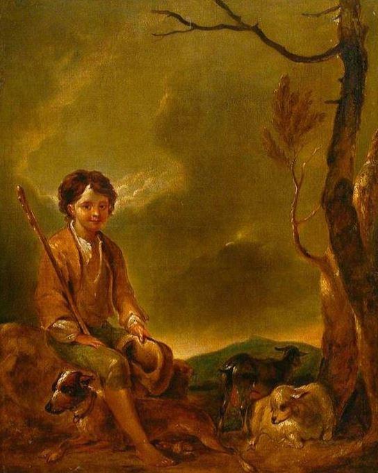 Shepherd boy - booley farming