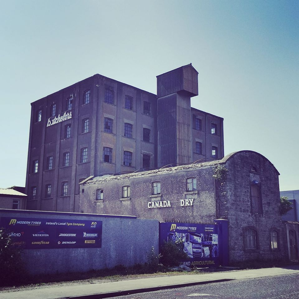 Old warehouse building in Sligo – Industrial heritage