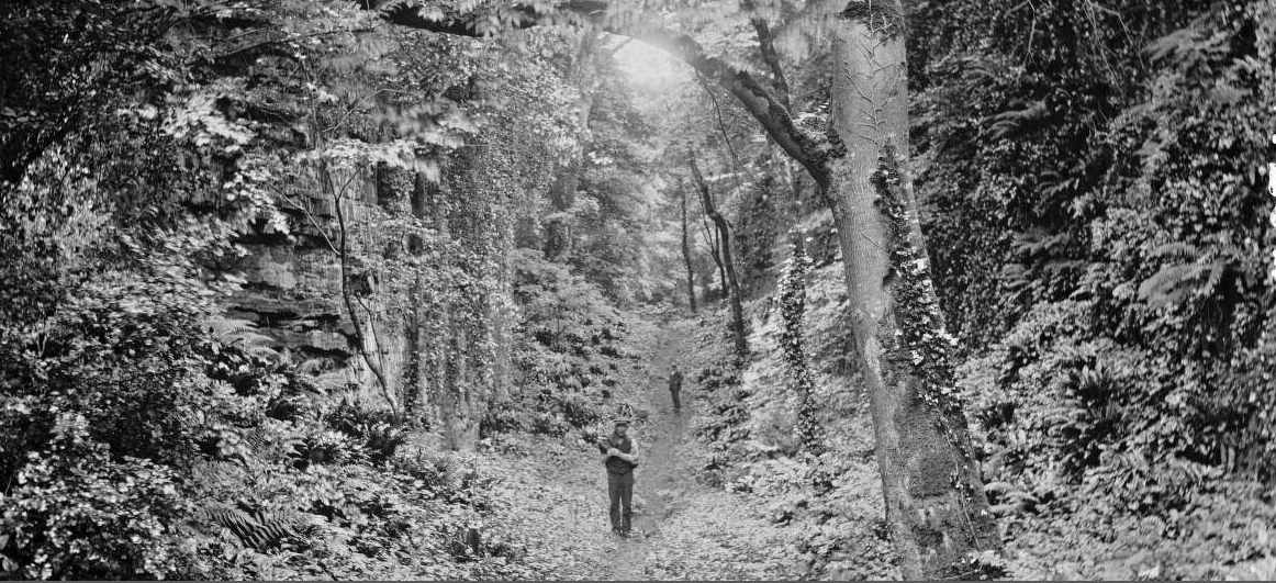 A visit to the Glen in the nineteenth century
