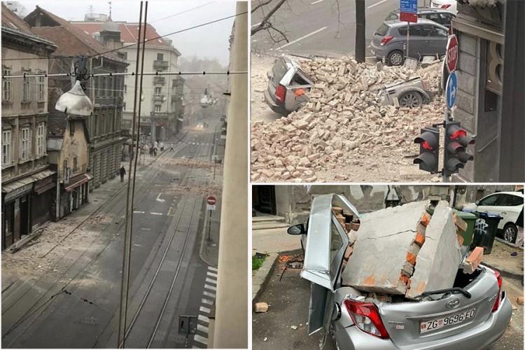 Snažni zemljotresi u Zagrebu, građani na ulicama, ima štete