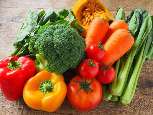 健康を意識したダイエットで野菜中心の食生活に
