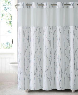cherry bloom 3 in 1 shower curtain