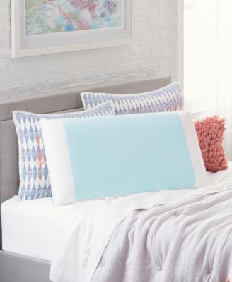 cool comfort hydraluxe king pillow gel custom contour open cell memory foam