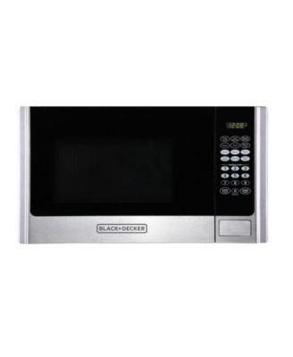 black decker em925ame p1 0 9 cu ft microwave reviews small appliances kitchen macy s