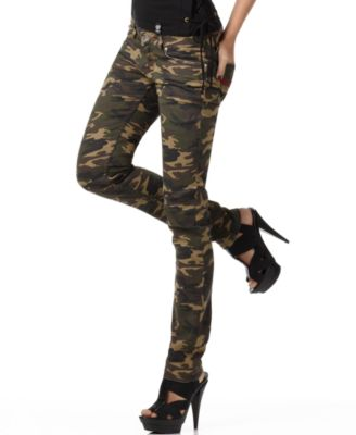 Luxirie Jeans, Camouflage Skinny