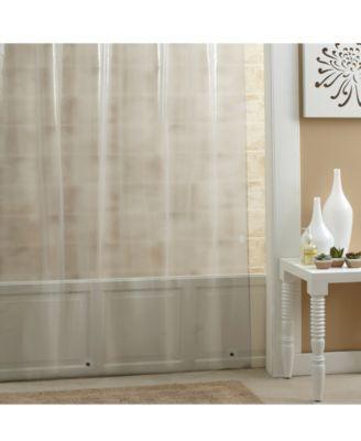 mildew resistant peva 70 x 72 shower curtain liner