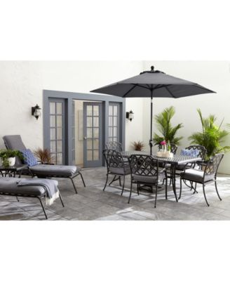 grove hill ii outdoor dining collection with sunbrella cushions created for macy s