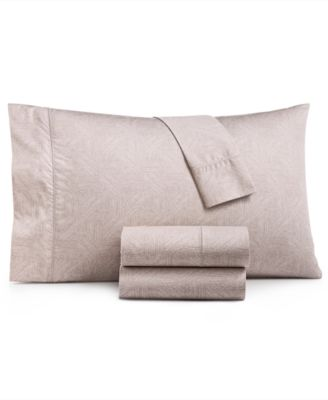 closeout etched block king sheet set created for macy s