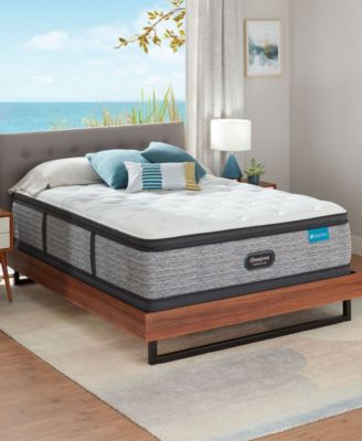 harmony lux carbon 15 75 medium firm pillow top mattress collection