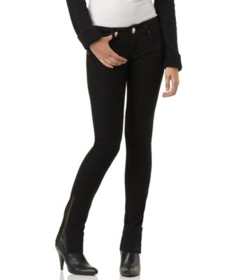 Femme For DKNY Jeans Skinny Jeans, Motocross with Zippers