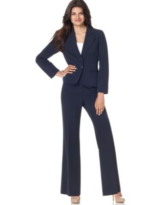 AGB Two Button Suit Jacket & Townsend Wide Leg Pants