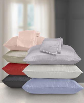 hedaya home satin pillowcase set
