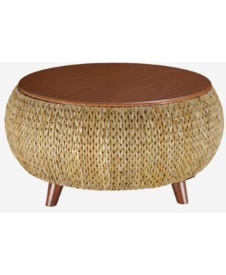 bali breeze round coffee table