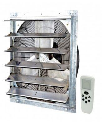 20 smart remote shutter exhaust fan wall mounted